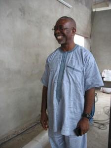 Godfrey Nzamujo,  Directeur et fondateur du Centre Songhaï