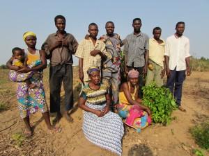 Des membres du groupement Maussi à Gbéhoué