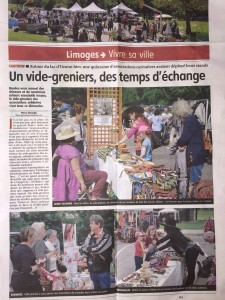 Article Populaire du Centre 6/06/2016