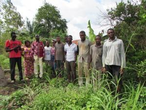 Un autre groupement villageois de la commune de Grand-Popo qui nous a sollicités pour le maraîchage