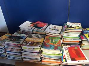 Des manuels scolaires pour le Bénin