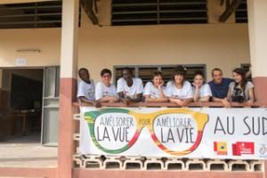 Les membres de la Mission Lunettes Bénin 2016